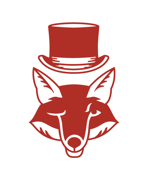 Fox and Hat Icon