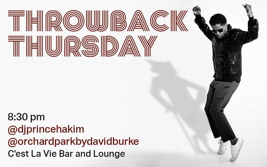 Throwback Thursday DJ Prince Hakim